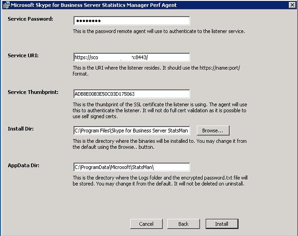 Deploying Skype for Business Server, Real-Time Statistics