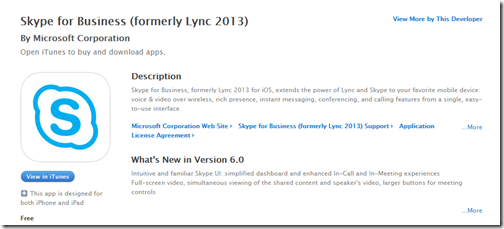 Microsoft releases Skype for Business (formerly Lync 2013