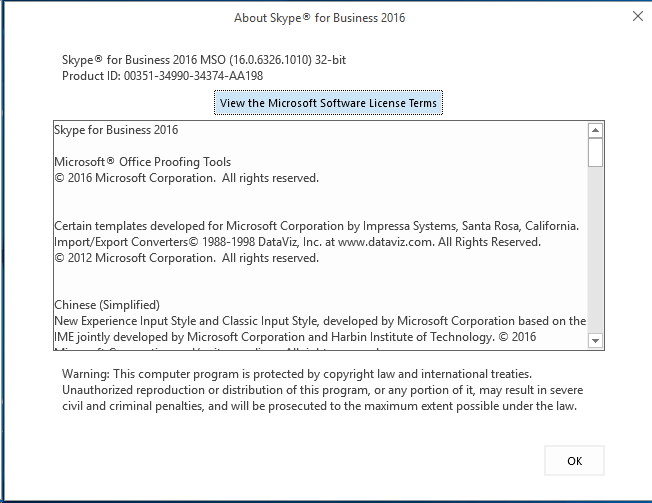 Skype for Business Client Update (Ver 16 0 6326 1010) – Guy UC World